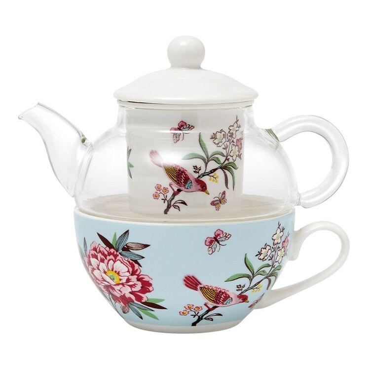 ASHDENE JARDIN PEONY TEA FOR ONE