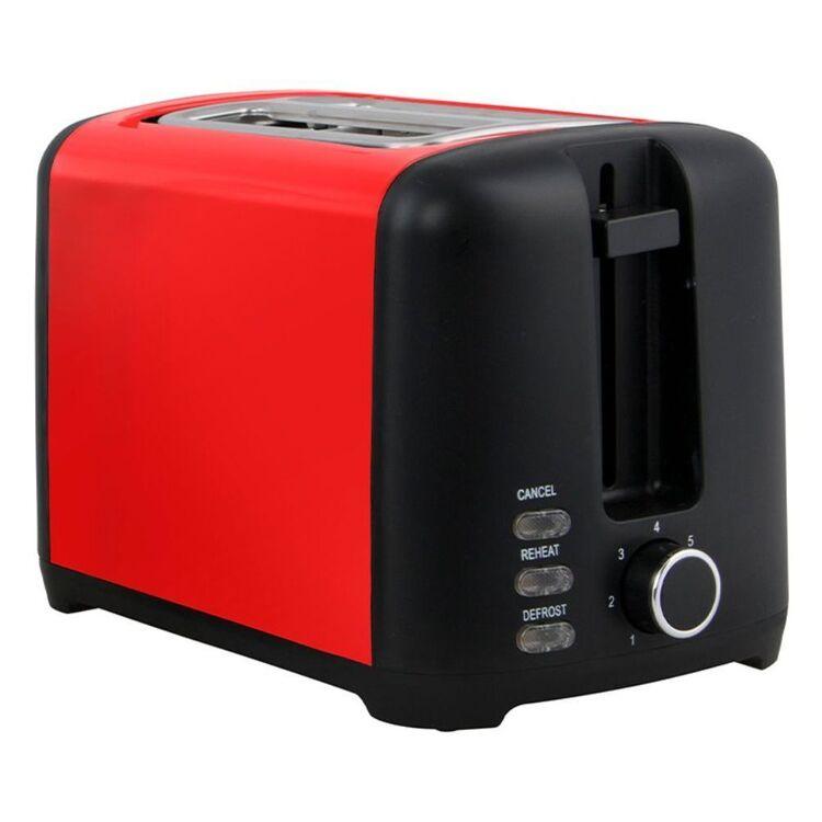 SMITH & NOBEL 2 Slice Toaster Red