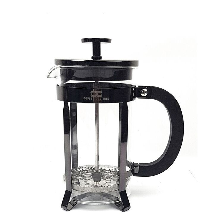 COFFEE CULTURE 350ML BLACK PLUNGER