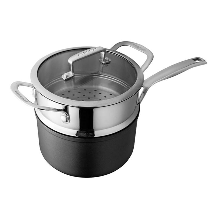 PYROLUX Ignite 18cm Saucepan with Steamer