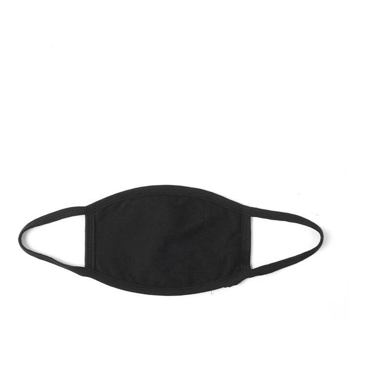IMPULSE Cotton Face Covering Mask Black