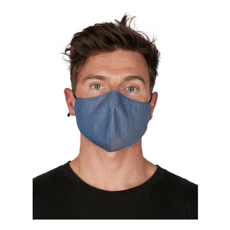 THE GOOD MASK COMPANY Single Cotton Face Mask Black