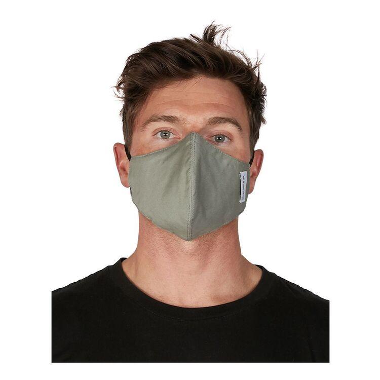 THE GOOD MASK COMPANY Single Cotton Face Mask Sage