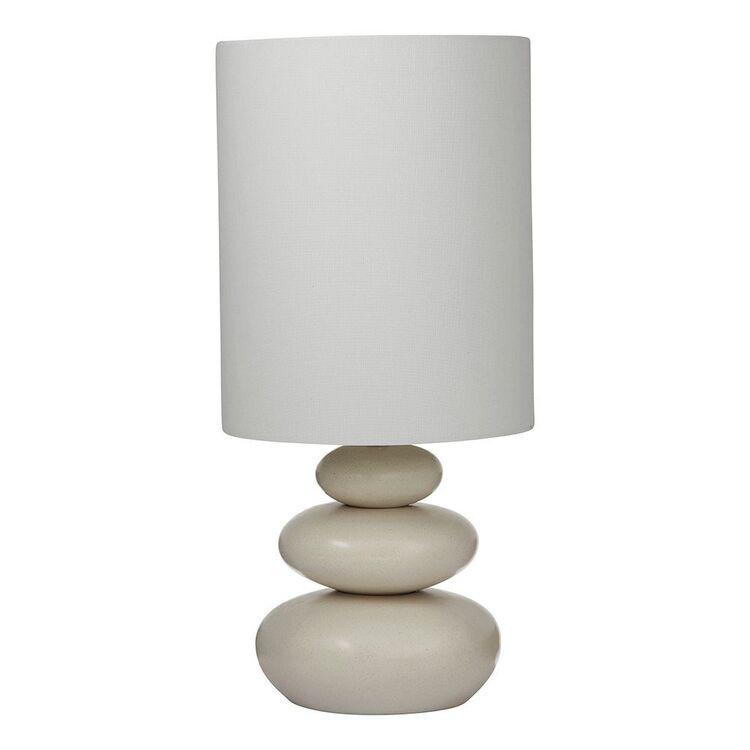 AMALFI Pebble Table Lamp