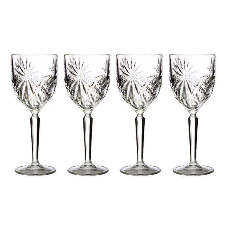 CASA DOMANI GRAZIA 4PC WINE GLASS SET 230ML