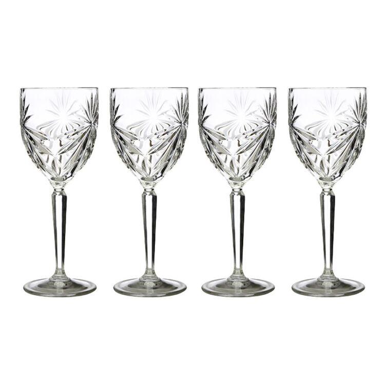 CASA DOMANI GRAZIA 4PC WINE GLASS SET 290ML
