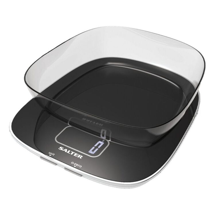 SALTER CONTOUR GLASS ELECTRONIC SCALE