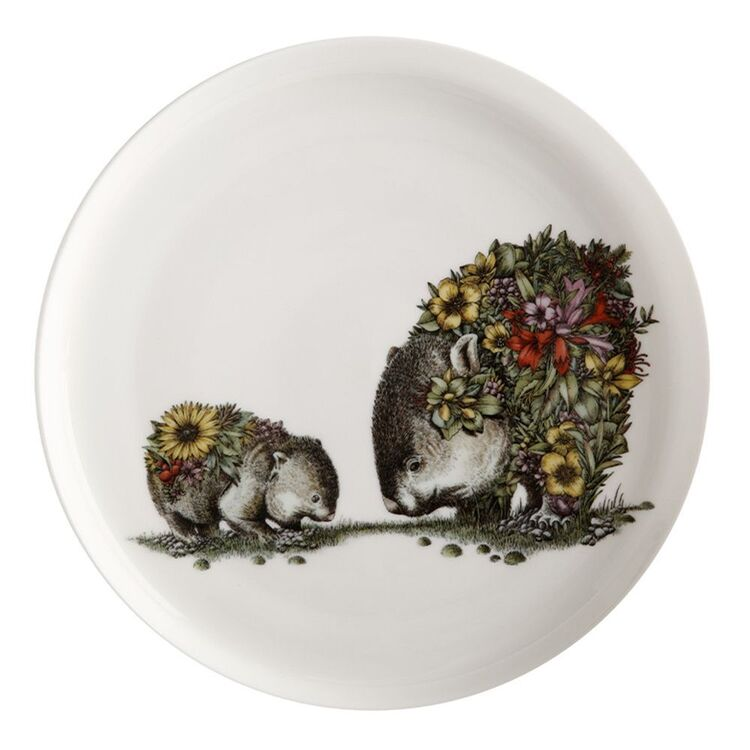 MAXWELL & WILLIAMS Marini Ferlazzo Australian Families Plate 20cm Wombat