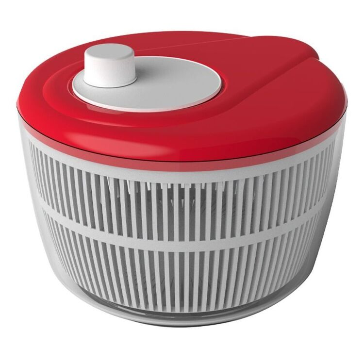 Davis And Waddell DAVIS AND WADELL RED SALAD SPINNER 26CM