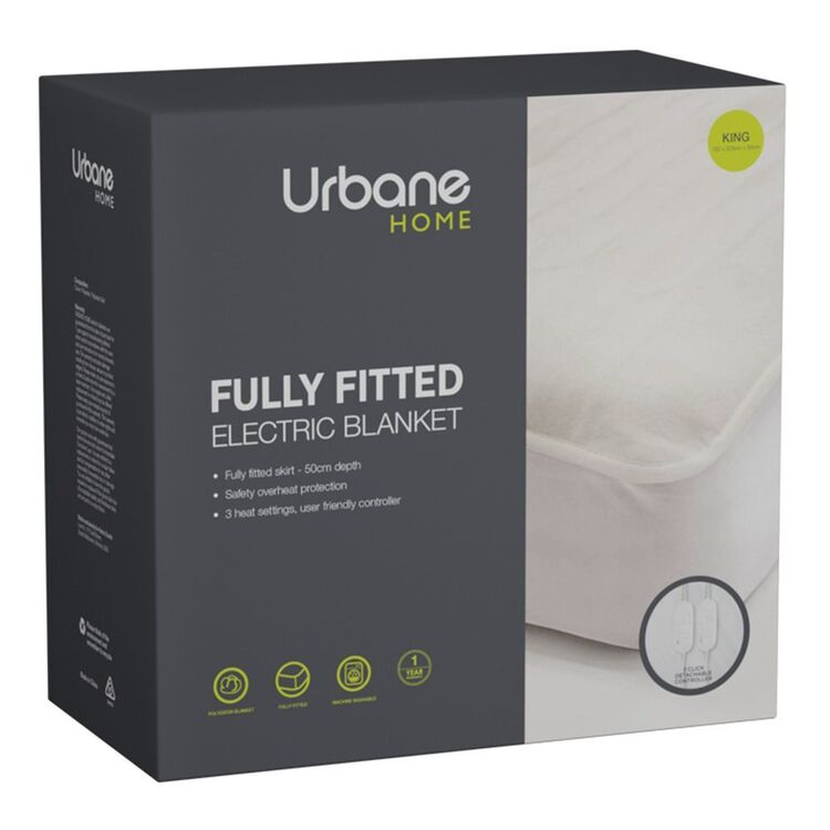 URBANE HOME Electric Blanket King Bed