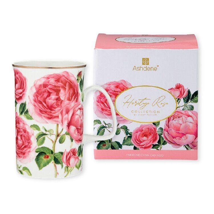 ASHDENE Heritage Rose Can Mug 320ml