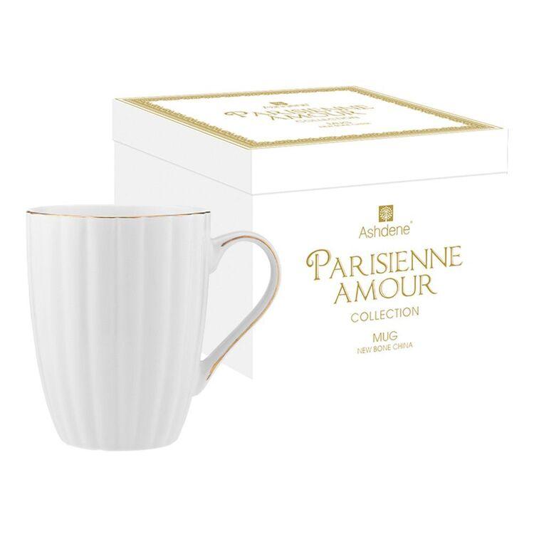 ASHDENE Parisienne Amour Mug WHITE