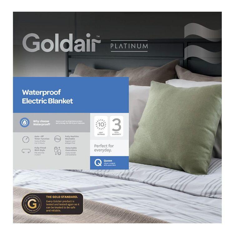 GOLDAIR WATERPROOF ELECTRIC BLANKET QUEEN BED GWPEB-Q
