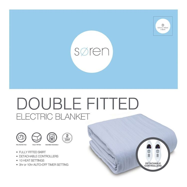 SOREN Fitted Electric Blanket Double Bed