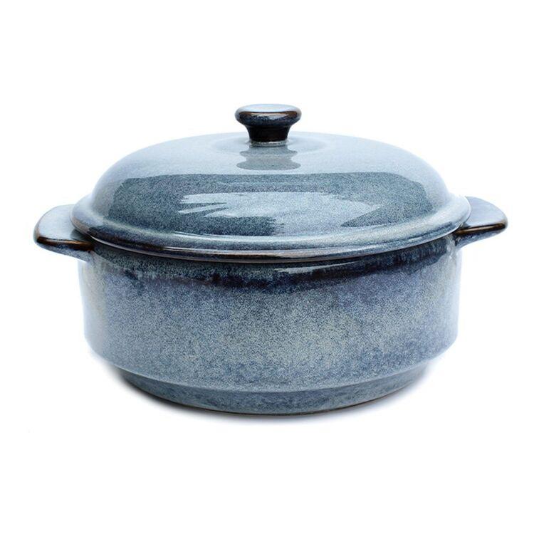 CLASSICA Grigio Ceramic Casserole Baker 22cm