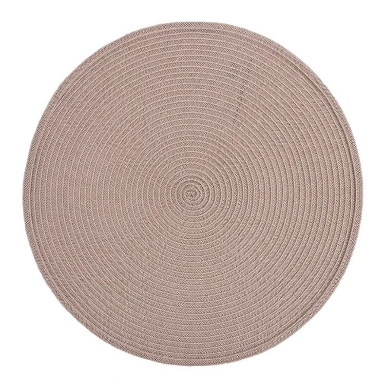 JUST HOME Maison Round Placemat Natural 38cm
