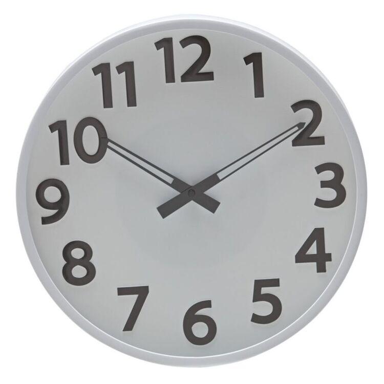 AMALFI BREEN WALL CLOCK 35.5CM