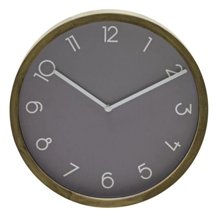 AMALFI BREEN WALL CLOCK GREY 32.6CM