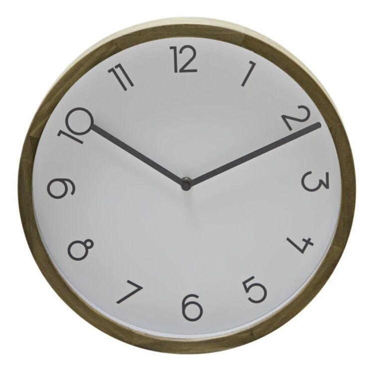AMALFI BREEN WALL CLOCK WHITE 32.6CM