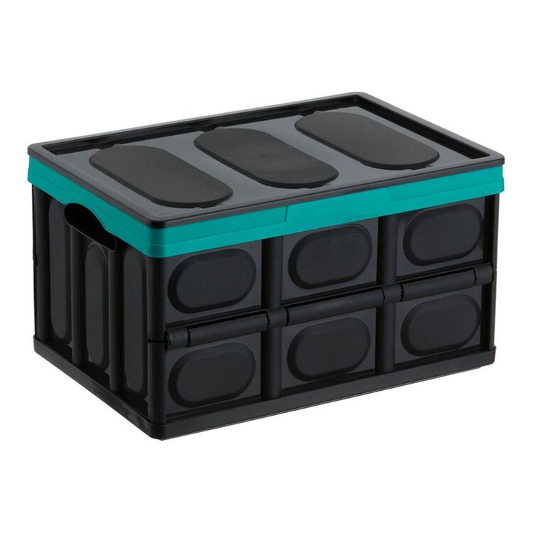 COLLAPSE-A Storage Box 23L - Teal