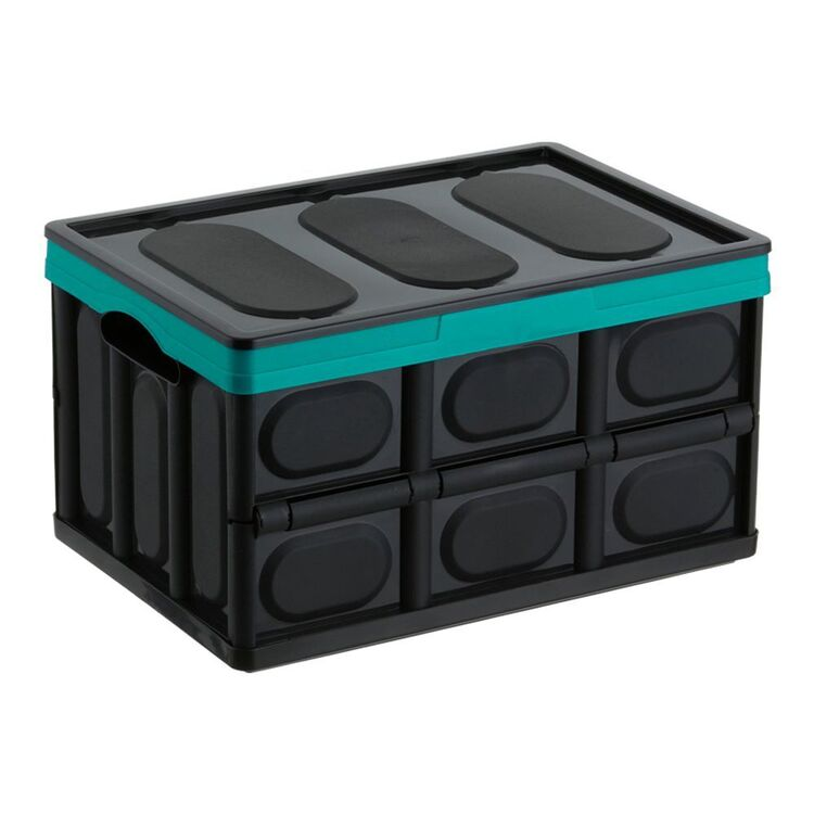 COLLAPSE-A Storage Box 46L - Teal