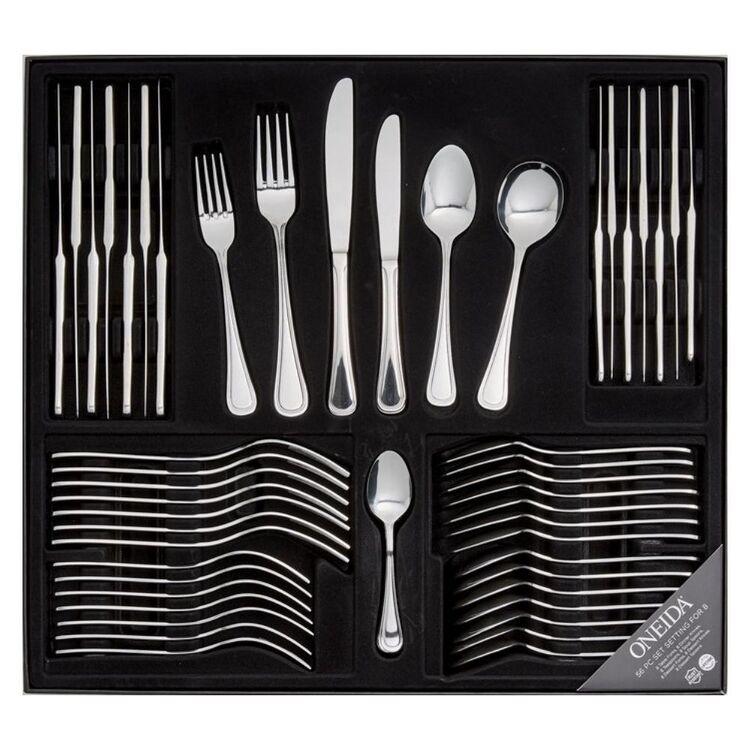 ONEIDA Barcelona 56pc Cutlery Set