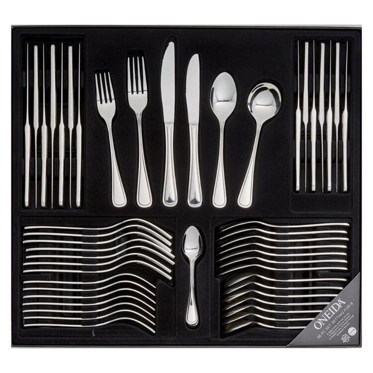 ONEIDA New Rim 56pc 18/10 Cutlery Set