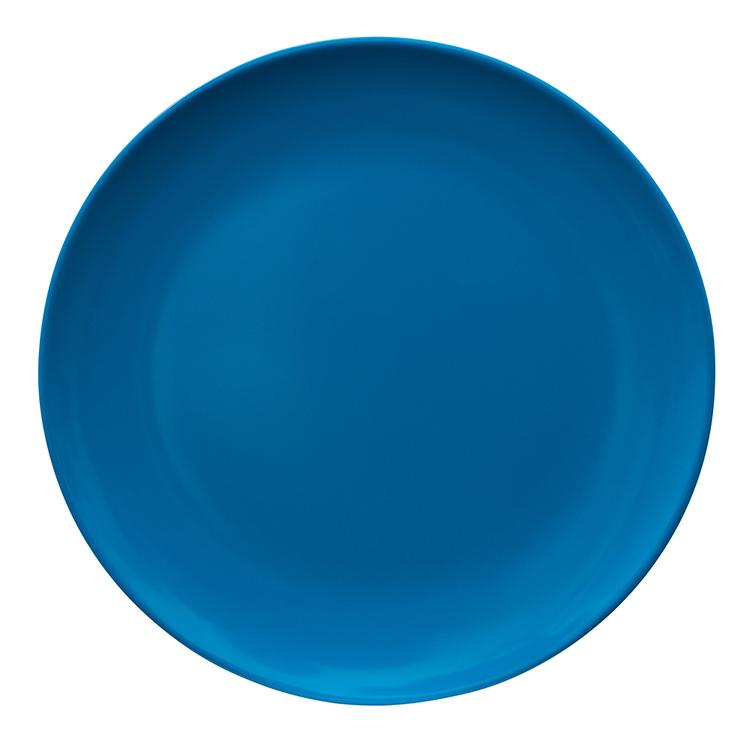 SERRONI REFLEX BLUE MELAMINE DINNER PLATE 25CM
