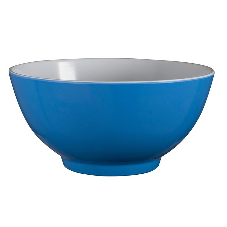 SERRONI REFLEX BLUE MELAMINE BOWL 15CM