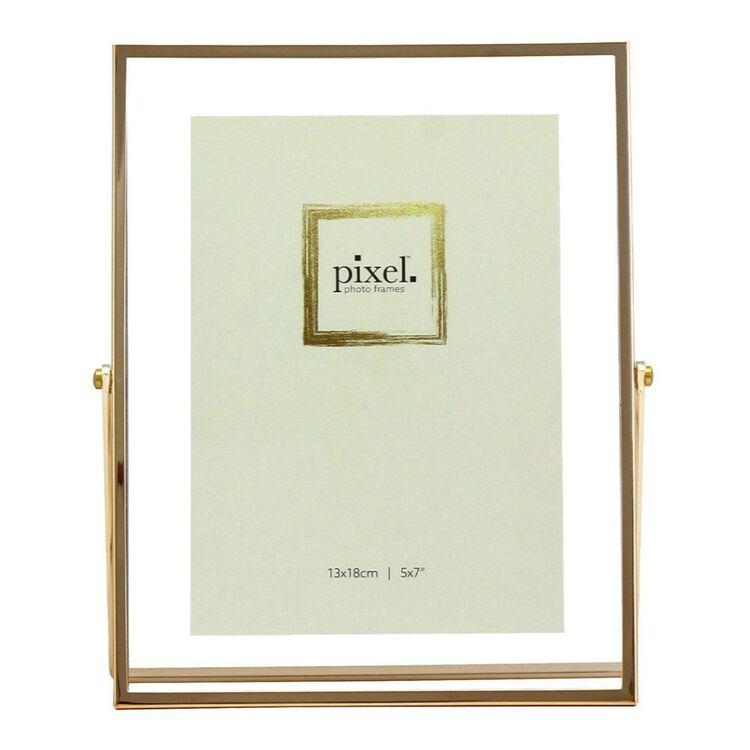 PIXEL 13 x 18cm Avery Gold Floating Photo Frame