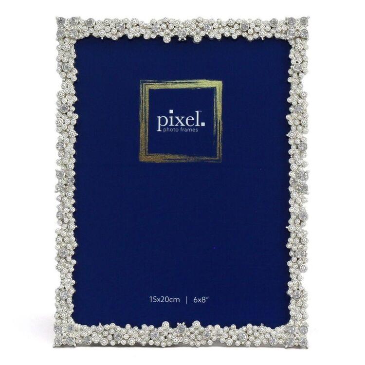 PIXEL 15 x 20cm Grace Silver Photo Frame