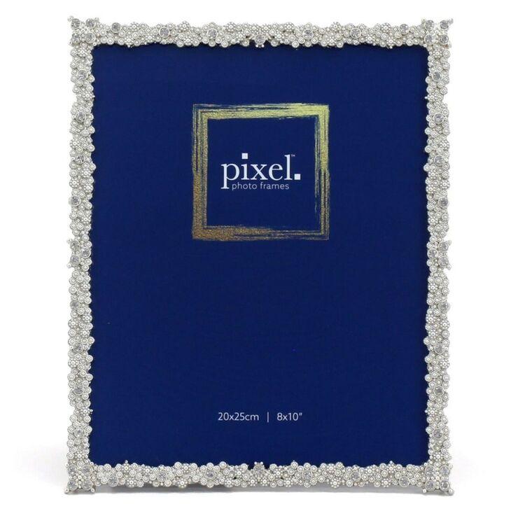 PIXEL 20 x 25cm Grace Silver Photo Frame