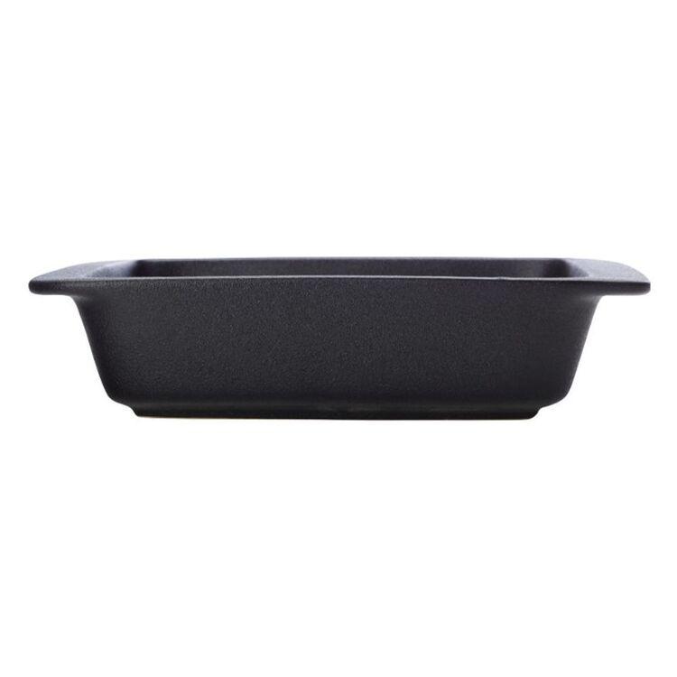 MAXWELL & WILLIAMS Caviar Square Baker 26x6cm Black