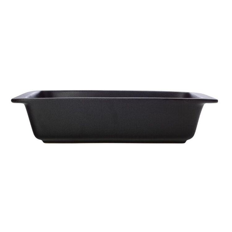 MAXWELL & WILLIAMS Caviar Rectangle Baker 35.5x22cm Black
