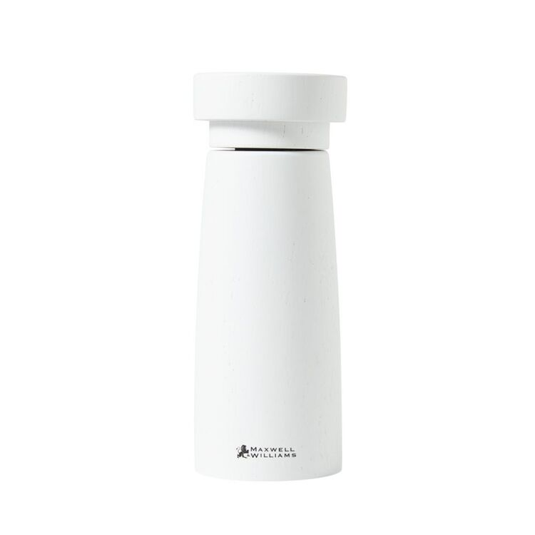 MAXWELL & WILLIAMS Stockholm Salt and Pepper Mill 17cm White