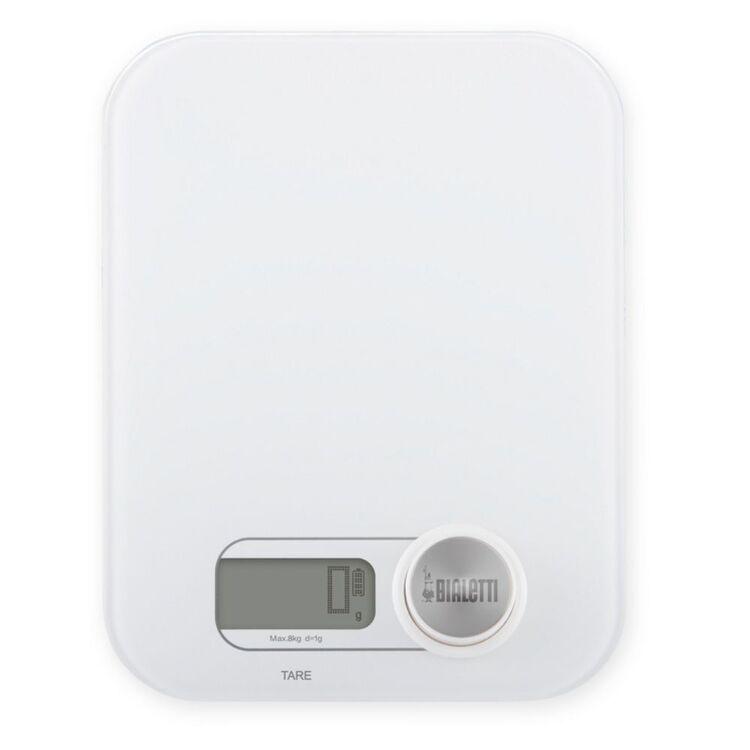 BIALETTI Digital Kitchen Scale 8kg White