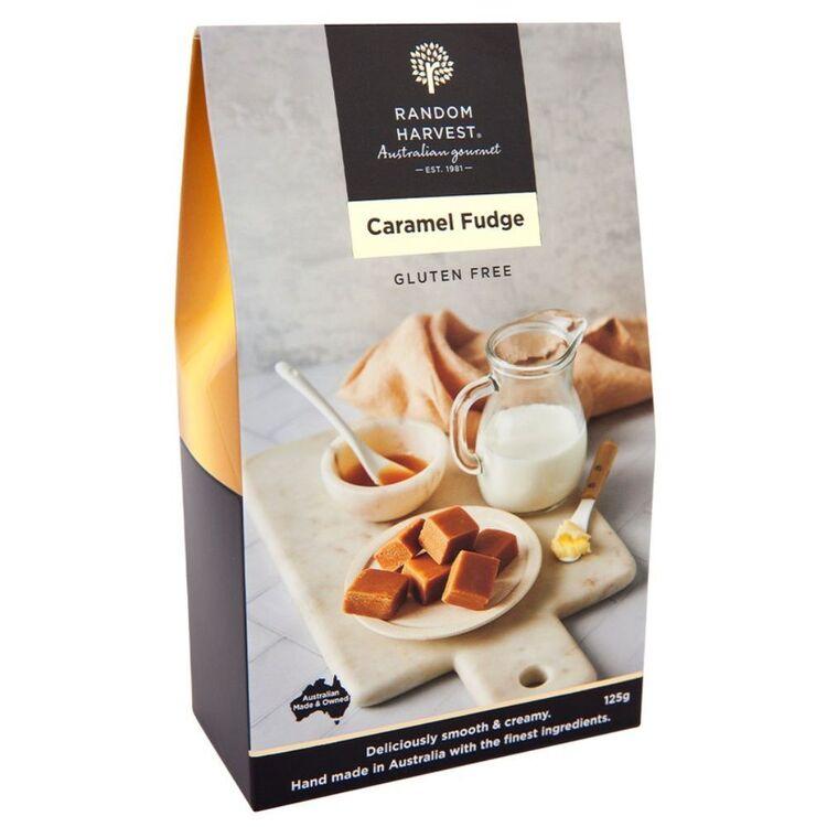 RANDOM HARVEST Caramel Fudge 125g